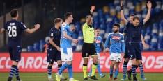 Napoli wint van Lazio, vier keer rood bij Braga - Sporting