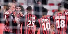 Dolberg trefzeker voor Nice, Cocu moet op herhaling in FA Cup
