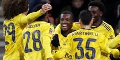 Arsenal naar laatste zestien FA Cup na zege op Aké en co