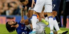 Gomes 86 dagen na horrorblessure terug op trainingsveld Everton
