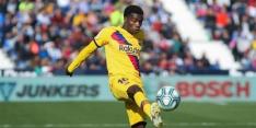 Barcelona verhuurt Wagué aan Nice, dat een optie tot koop heeft