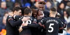 Jubilaris Rüdiger helpt Chelsea aan een punt bij Leicester City