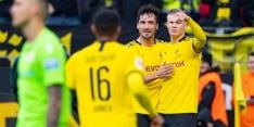 Haaland steelt weer de show, doelpunt St. Juste deert Bayern niet