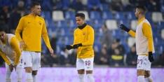 Kluivert en Roma komen dramatisch eerste halfuur niet te boven