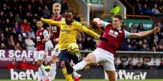 Pover Arsenal speelt bij Burnley voor vierde keer op rij gelijk