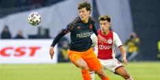 Lammers terug in de spits bij PSV, maar werd nog amper bereikt