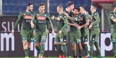 Napoli geeft overwinning op Juventus passend vervolg
