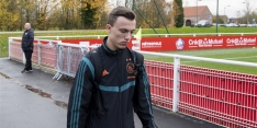 Regeer (16) traint voor het eerst mee met eerste team van Ajax