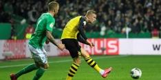 Volgende treffer Haaland voorkomt uitschakeling Dortmund niet