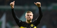 Haaland verslaat Gravenberch en wint Golden Boy Award