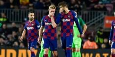Goed nieuws voor Barcelona: blessure Piqué valt mee