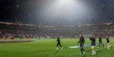 Belgen wachten storm niet af en schrappen zondagduels