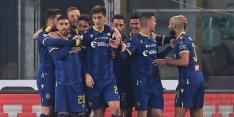 Juventus onderuit bij Hellas ondanks weer Ronaldo-goal