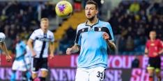 Lazio wint en doet helemaal mee in Italiaanse titelstrijd