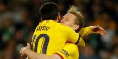 De Jong en assistkoning Messi bezorgen FC Barcelona opsteker