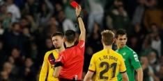 Arbiter krijgt week 'rust' na ophef bij Real Betis - FC Barcelona