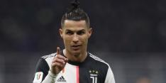 Ronaldo maakt geen goede beurt met training in stadion