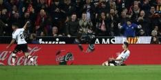 Valencia gelijk tegen Atlético, Leicester morst bij Wolverhampton