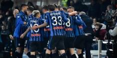Atalanta deelt Roma tik uit in strijd om Champions League