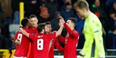 United en Sevilla moeizaam naar remise, zege Sporting