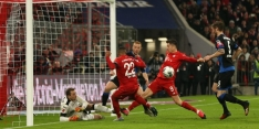 Lewandowski redt Bayern en falende Neuer met late goal