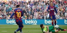 Geweldige Messi maakt met vier goals einde aan droogte
