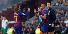 Barça-spits Braithwaite komt in heel duel tot zestien balcontacten