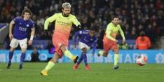 Man City mist weer strafschop, maar wint bij Leicester