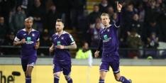 Hattrick Vlap bij zevenklapper Anderlecht, Club wint stadsderby