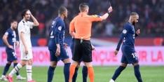 Neymar na rode kaart in bescherming genomen door Tuchel