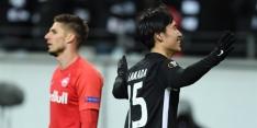 Dost-loos Eintracht door en treft Van Wolfswinkel in de EL