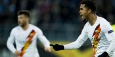 Kluivert schiet Roma ronde verder, ook Bosz door