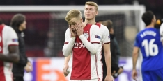 """Van de Beek over anti-voetbal: """"Nog nooit meegemaakt"""""""