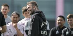 'Beckham en Inter houden situatie Messi in de gaten'