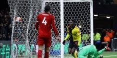 Onherkenbaar Liverpool raakt bij Watford ongeslagen status kwijt