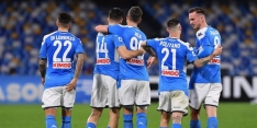 Napoli wint moeizaam van Udinese en stijgt naar plaats zes
