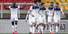 Atalanta maakt voor derde keer dit seizoen zeven goals