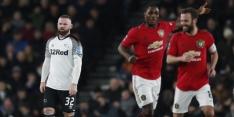 Bekerdroom Cocu en Rooney spat uiteen tegen Man United