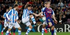 Slecht Barcelona dankzij pingel Messi langs Sociedad