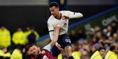 Tottenham boft met moeizaam punt bij middenmoter Burnley