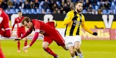 """Onbegrip bij FC Twente: """"Ik word vol in mijn rug gelopen"""""""