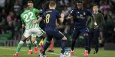 Real Madrid verliest bij Real Betis en is koppositie kwijt