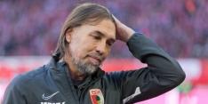 Gouweleeuw krijgt nieuwe trainer: Augsburg ontslaat Schmidt