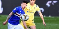 Weer slecht nieuws Sampdoria: ook Depaoli heeft coronavirus