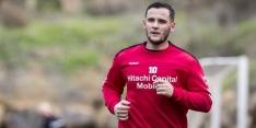Bij FC Emmen vertrokken Tarashaj keert niet terug naar Everton