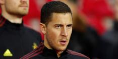 Pechvogel Hazard haakt definitief af voor wedstrijd van België