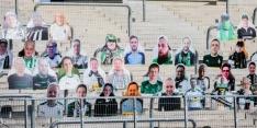 Ook bij Borussia Mönchengladbach namaaksupporters in stadion