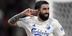 Kopenhagen-spits geschorst door UEFA vanwege duwen agent