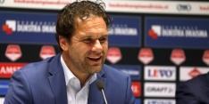 """Cambuur-assistent Van der Heide ziedend op de KNVB: """"Corrupt"""""""