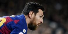 """Piqué droomt van langer verblijf Messi bij Barça: """"Er is altijd hoop"""""""